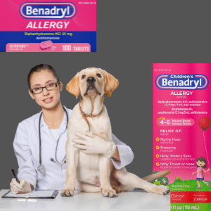 How much Benadryl is too much for a dog