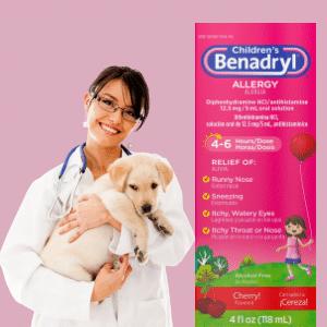 Can I give my dog liquid Benadryl