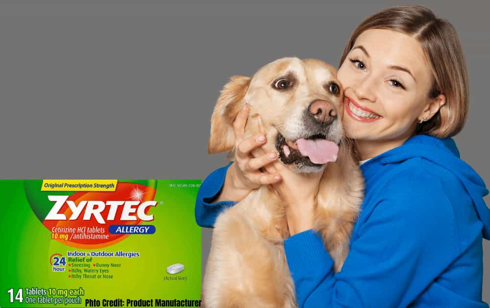 How much Zyrtec for Dogs